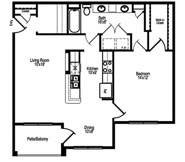 Houston Westbury Gardens: Ranch At City Park Apartments